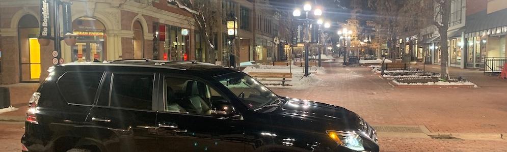 Lexus GX 460, Pearl St Mall, Boulder CO