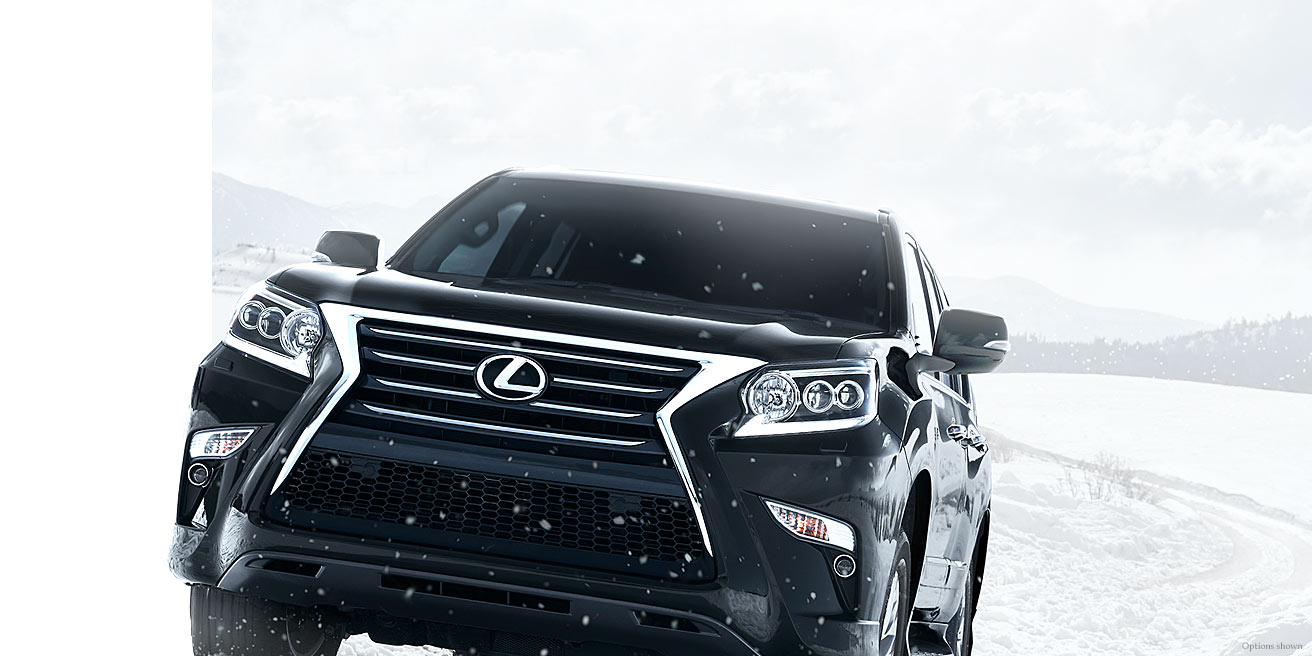 Lexus GX 460 Blasting Through Snow