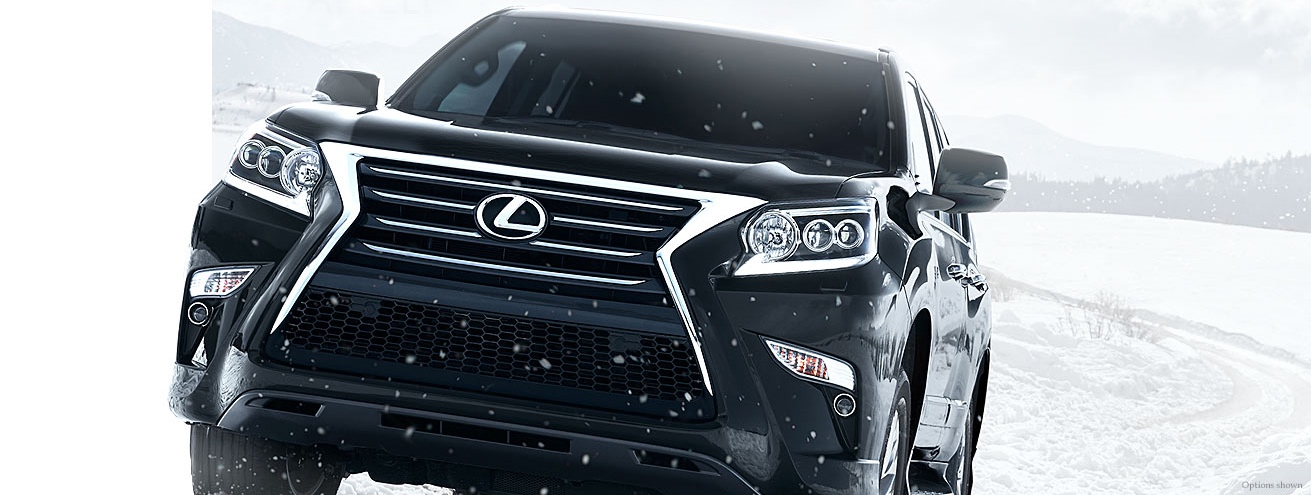 Lexus GX 460 Blasting Through Snow